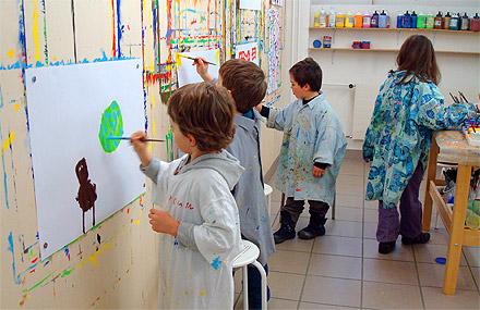 Malen für Kinder | Malatelier Nicole Richterich